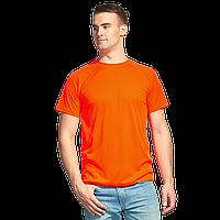 Мужская спортивная футболка , StanPrint, 30, Оранжевый неон (128), XL/52