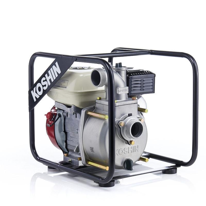 Бензиновая мотопомпа для средне-загрязненных вод Koshin STH-50X