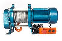 Лебедка TOR ЛЭК-500 E21 (KCD) 500 кг, 380 В с канатом 30 м
