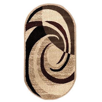 Ковер Кашемир 50118/55 овал, размер 200х300 см, ворс 8мм, 1890 г/м2,100% ПП
