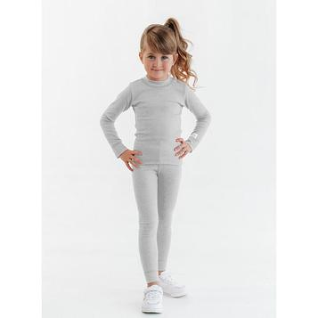 Термобелье для девочки «Дарби», рост 110 см, цвет серый
