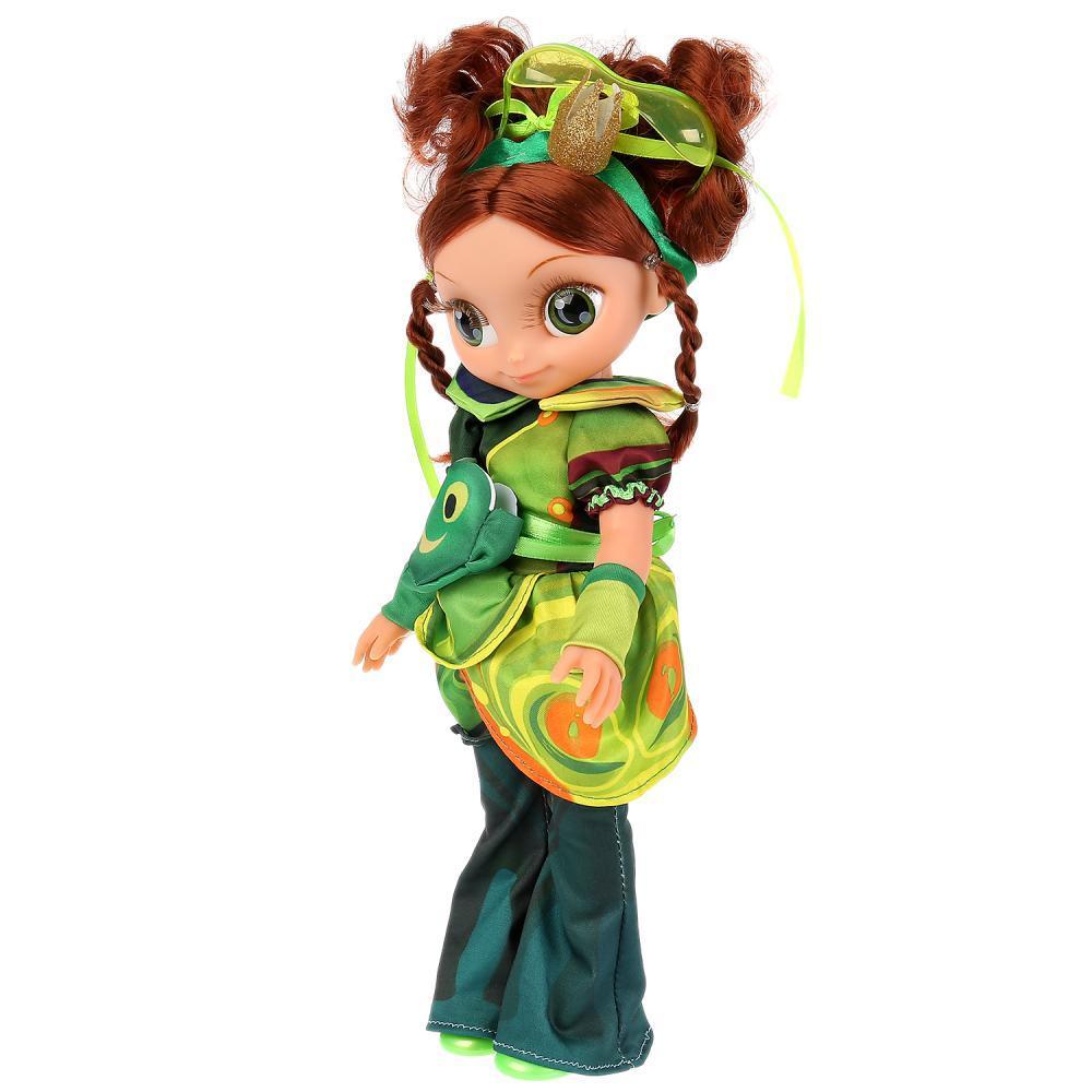 Сказочный патруль Интерактивная кукла Маша Королева Бала, 32 см. 15 песен и фраз