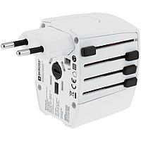 Зарядное устройство S-Kross MUV USB для путешествий, белое, фото 1