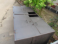 Жироуловитель подземные с оголовком 1п=1м без откачивающего насоса TehFat-20-P