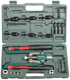Заклепочник  резьбовой и вытяжной KRAFTOOL ,резьбовые М4-М12, вытяжные 2.4-6.4 мм (31182)