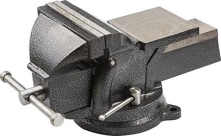 Тиски STAYER 150 мм,  слесарные с поворотным основанием (3254-150), фото 2