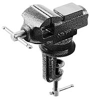 Тиски Зубр 60 мм, -мини для точных работ (32485)
