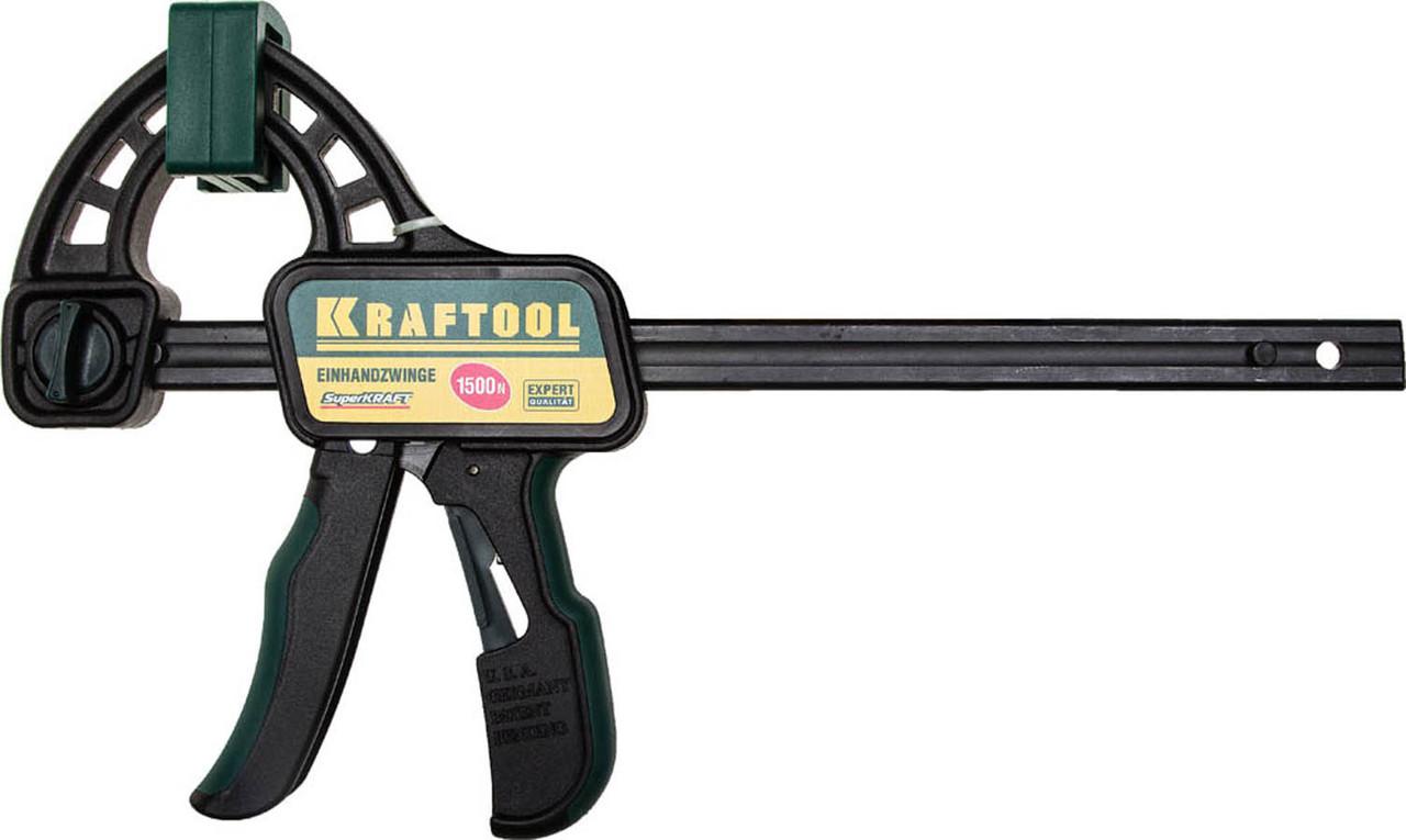 KRAFTOOL 150/350 мм, Струбцина быстрозажимная EcoKraft  (32226-15)