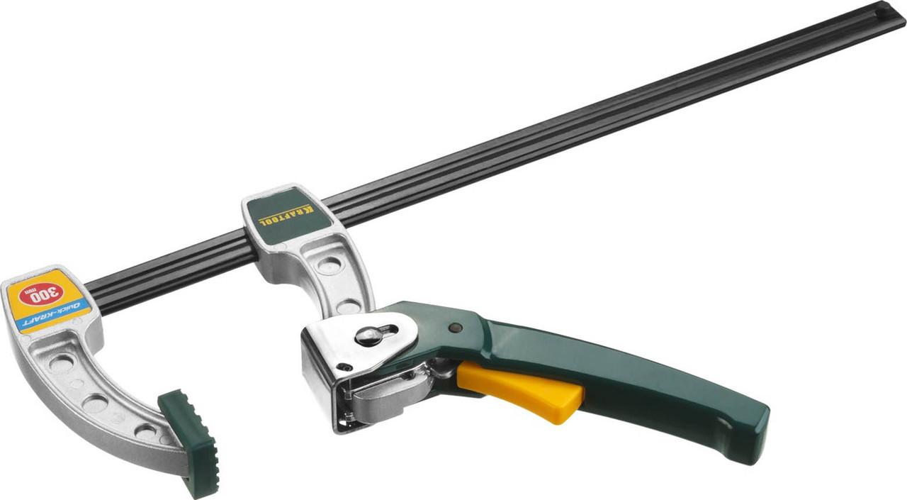 KRAFTOOL 75х300 мм, струбцина быстрозажимная  (32019-75-300)