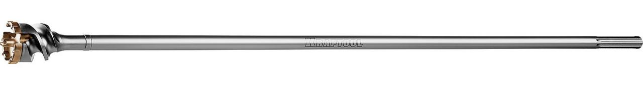 Бур по бетону Kraftool, 55 х 990 мм, проломной, SDS-max (29355-55-990)