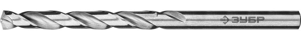 """Сверло по металлу ЗУБР Ø 7.5 x 109 мм, класс А, Р6М5, серия """"Профессионал"""" (29625-7.5)"""