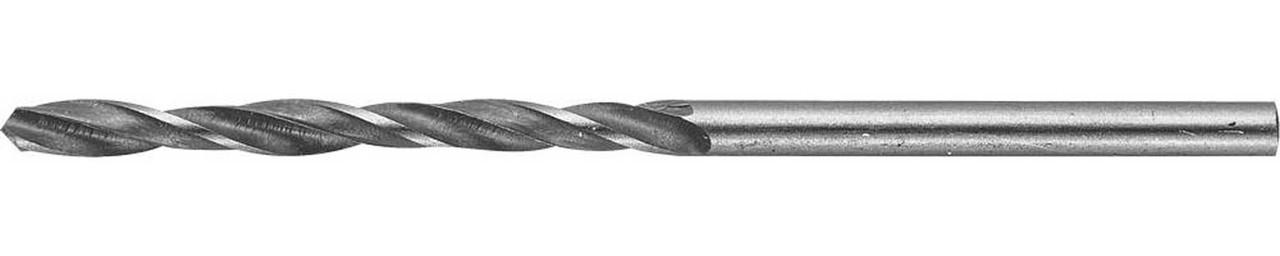Сверло спиральное по металлу STAYER Ø 2.5 х 57 мм, Р6М5 (29602-057-2.5)