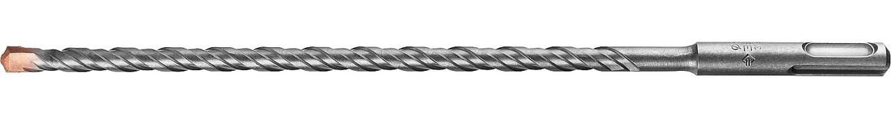 "Бур по бетону ЗУБР 8 x 260 мм, SDS-Plus, серия ""Профессионал"" (29314-260-08_z01)"