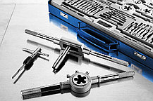 ЗУБР 35 предметов, Р6М5, набор метчиков и плашек (28110-H65) Профессионал (28110-H65), фото 3