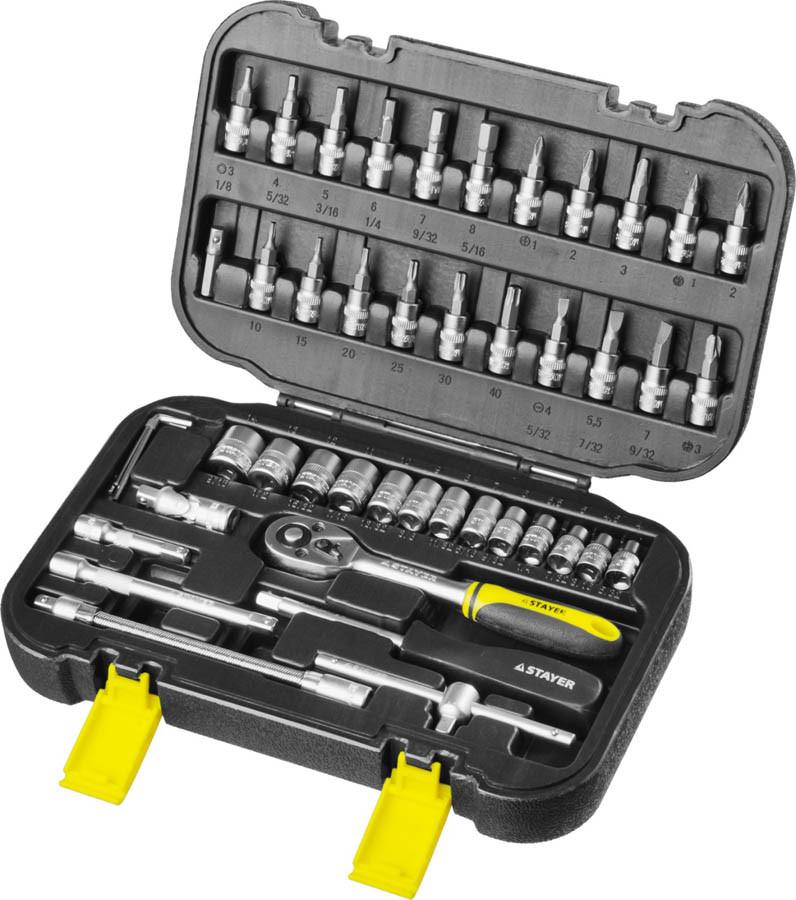 Набор автомобильного инструмента Stayer 46 шт. (27760-H46)