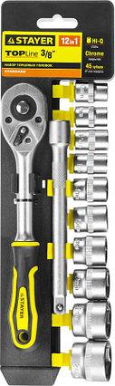 Набор торцовых головок STAYER, 12 шт. (27752-H12), фото 2