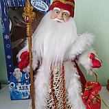 Дед Мороз Музыкальный 40 см, фото 2