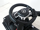 Шестиколесный Лицензионный толокар Mercedes-Benz. Колеса резиновые! Kaspi RED. Рассрочка., фото 4