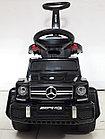 Шестиколесный Лицензионный толокар Mercedes-Benz. Колеса резиновые! Kaspi RED. Рассрочка., фото 8