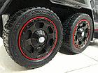 Шестиколесный Лицензионный толокар Mercedes-Benz. Колеса резиновые! Kaspi RED. Рассрочка., фото 9
