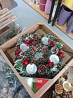 Венок декор новогодний