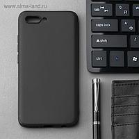 Чехол Innovation, для Huawei Honor 10, силиконовый, матовый, черный