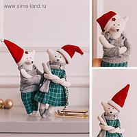 Мягкая игрушка «Кейлли и Лукас» набор для шитья, 15,6 × 22.4 × 5.2 см