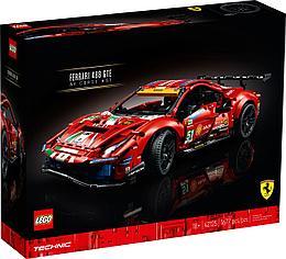 "42125 Lego Technic Ferrari 488 GTE ""AF Corse #51"", Лего Техник"
