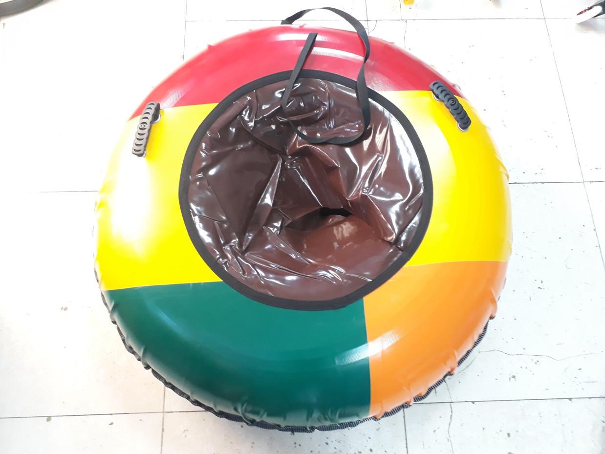 Огромный тюбинг ватрушка для детей 1200 мм Плюшка Россия