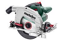 Дисковая ручная пила Metabo KS 66 FS, 1500 Вт,190 мм