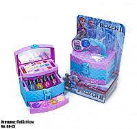 Детский набор косметики в виде шкатулки Frozen