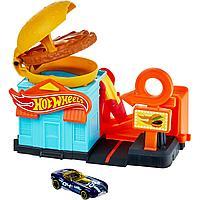 Игровой набор Хот Вилс Город «Бургерная» Hot Wheels City
