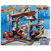Hot Wheels City Легендарный гараж с акулой