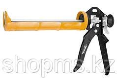 "Пистолет для герметика, 310 мл, ""полуоткрытый"", круглый шток 7 мм, Heavy Duty// SPARTA"