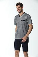 Пижама мужская* L / 48-50, Серый
