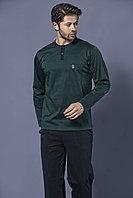 Пижама мужская* 2XL / 52-54, Зеленый