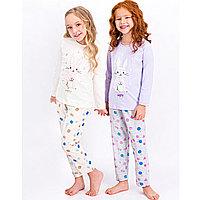 Пижама детская девичья* рост 92-98, Ванильный