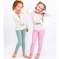 Пижама детская девичья* рост 116-122, Ванильный