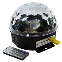 Диско шар Magic Ball Light MP3 с музыкой, флешкой и пультом (цветомузыка), фото 1