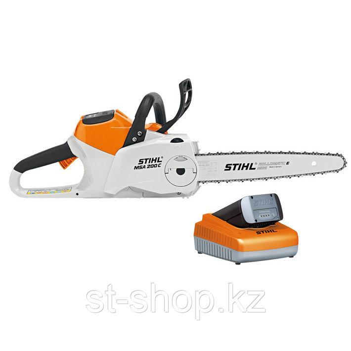 Аккумуляторная пила STIHL MSA 200 C-BQ (с AP 300 и AL 300)