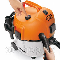 Пылесос STIHL SE 61 E (1,3 кВт   20 л) с розеткой для электроинструмента, фото 3