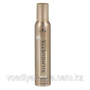 Мусс сверхсильной  фиксации для тонких волос Schwarzkopf Silhouette Gold Mousse 200 мл