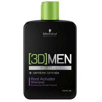 Шампунь активатор роста волос Schwarzkopf 3D Men Root Activator Shampoo 250 мл