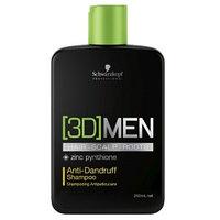 Шампунь против перхоти Schwarzkopf 3D Men Anti-Dandruff Shampoo 250 мл