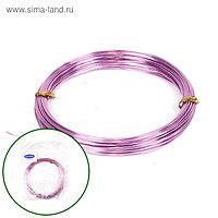 Проволока бонсайная, 1 мм х 10 м, светло-розовый