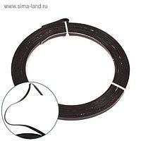 Проволока бонсайная плоская,5 мм x 5 м, чёрный