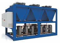 Чиллер с воздушным охлаждением конденсатора, холодопроизводительность 69.2 кВт, модель SV-CLR70