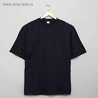 Футболка мужская цвет тёмно-синий, р-р 52