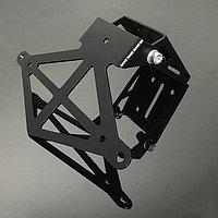 Рамка для крепления номера мотоцикла, складная, металлическая