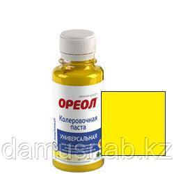 Колер 02 желтый 100мл Ореол (9090)